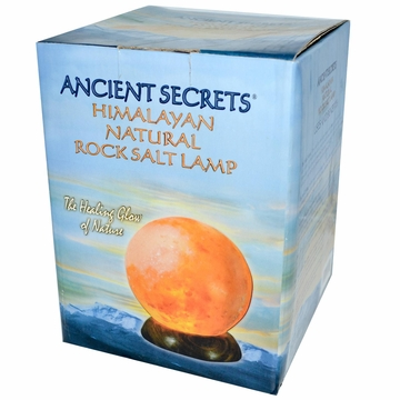 Salt Lamp Sphere by Ancient Secrets - 9-11 lbs.