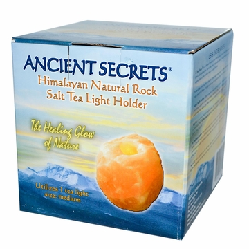 Salt Lamp Tea Candle by Ancient Secrets - 3-5 lbs.