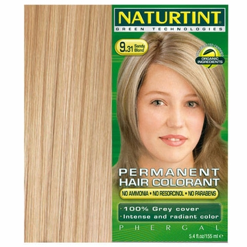 Naturtint Hair Colourants 9.31 (Sandy Blonde) - 5.28 Fluid Ounces