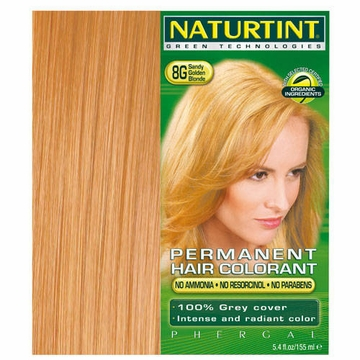 Naturtint Hair Colourants 8G (Sandy Golden Blonde) - 5.28 Fluid Ounces