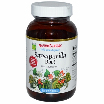 Sarsaparilla Root by Nature's Herbs - 100 Capsules