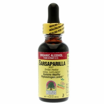 Sarsaparilla Root Organic Alcohol by Nature's Answer - 1oz.