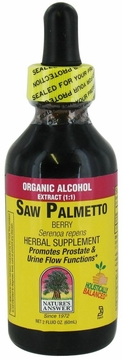 Saw Palmetto Berries by Nature's Answer - 2oz.