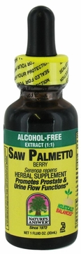 Saw Palmetto Berry Alcohol Free by Nature's Answer - 1oz.