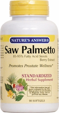 Saw Palmetto Berry Extract by Nature's Answer - 90 Softgels