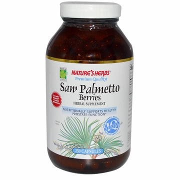Saw Palmetto by Nature's Herbs - 250 Capsules