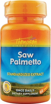 Thompson Nutritional Saw Palmetto Extract 160 mg - 60 Softgels