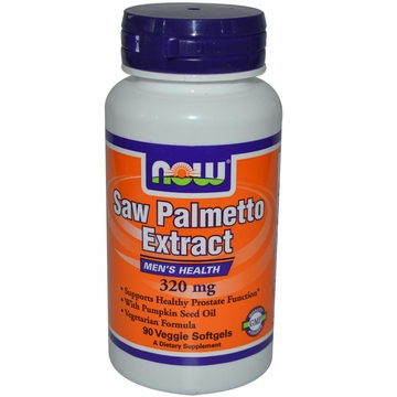 Now Foods Saw Palmetto Extract 320 mg - 90 Veggie Softgels