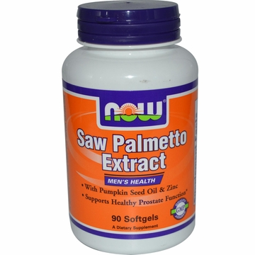 Now Foods Saw Palmetto Extract - 90 Softgels