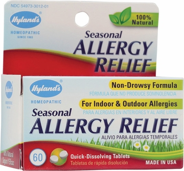 Seasonal Allergy Relief by Hylands - 60 Tablets