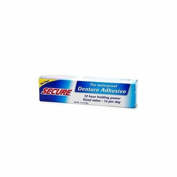 Secure Denture Bonding Cream by Secure - 1.4oz.