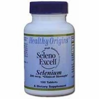 Selenium Seleno Excell 200mcg by Healthy Origins - 180 Tablets