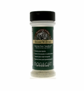 Shake 'N' Zyme Vegetarian Enzyme Formula by Dancing Paws - 4.4oz.