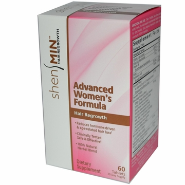 Shen Min Advanced Women's Formula Hair Regrowth by Biotech Corporation - 60 Tablets