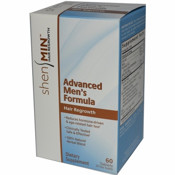 Shen Min Hair Nutrient Advanced Men's Formula by Biotech Corporation - 60 Tablets