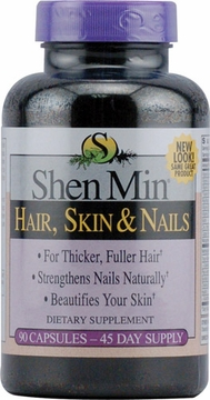 Shen Min Hair Skin and Nails by Biotech Corporation - 90 Tablets