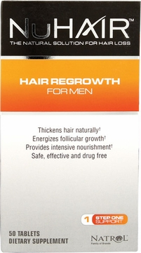 Shen Min NuHair Hair Regrowth for Men by Biotech Corporation - 50 Tablets