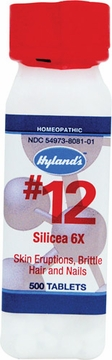 Silicea 6X by Hylands - 500 Tablets