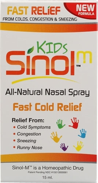 Sinol Sinol-M Kids Cold Relief Nasal Spray - 15 Milliliters