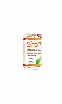 Sinol Sinol-M Fast Cold and Flu Relief Nasal Spray - 15 Milliliters