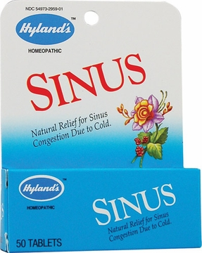 Sinus by Hylands - 50 Tablets