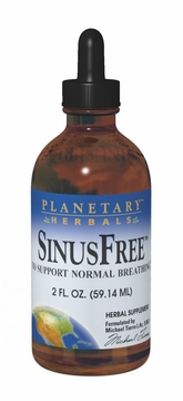 Planetary Herbals SinusFree Liquid - 4 Fluid Ounces