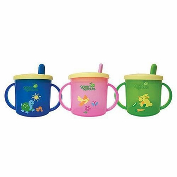 Sippy Cup Assorted Colors by Green Sprouts -1 Cup