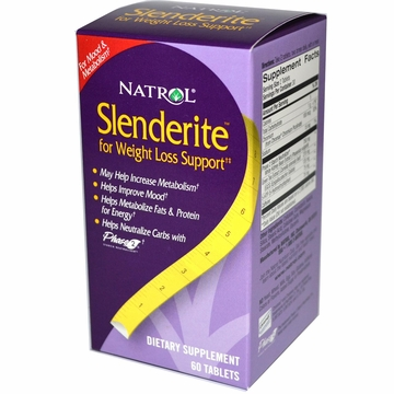 Slenderite by Natrol - 60 Tablets