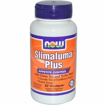 Now Foods Slimaluma Plus - 60 Vegetarian Capsules