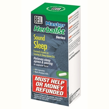 Sound Sleep (Formerly Snoring & Sleep Apnea Eze) by Bell Lifestyle Products Inc. - 60 capsules