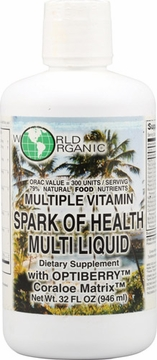 World Organics Spark Of Health Multi Liquid - 32 Fluid Ounces