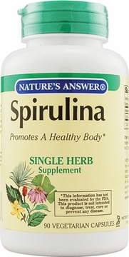 Spirulina Gel by Nature's Answer - 90 Vegetarian Capsules