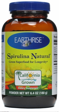 Spirulina Powder by Earthrise - 6.3oz.