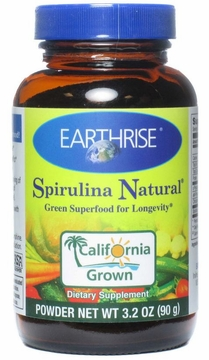 Spirulina Powder by Earthrise - 90 Grams