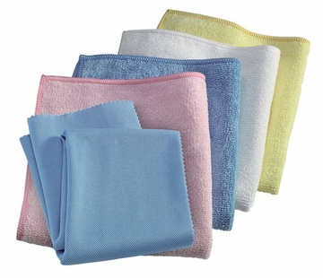 Starter Value Pack (Colors May Vary) by E-Cloth - 1 Pack of 5 Cloths