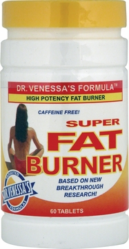 Super Fat Burner High Potency Caffeine-Free by Dr. Venessa's Formulas - 60 Tablets