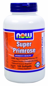 Now Foods Super Primrose 1300 mg - 120 Softgels
