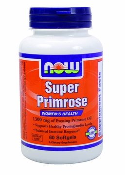 Now Foods Super Primrose 1300 mg - 60 Softgels