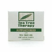 Tea Tree Therapy Vaginal Suppositories - 6 Suppositories
