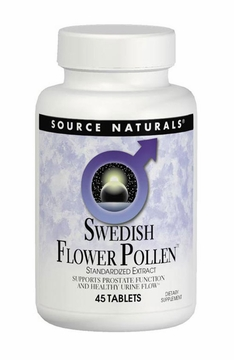 Source Naturals Swedish Flower Pollen Extract - 45 Tablets
