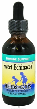 Sweet Echinacea Peppermint Flavor by Herbs for Kids - 2oz.