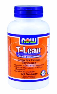 Now Foods T-Lean Weight Management - 120 Vegetarian Capsules