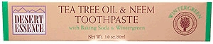 Tea Trea Oil & Neem Toothpaste w/ Baking Soda & Wintergreen by Desert Essence - 7oz.