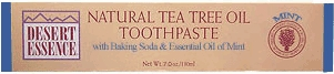 Tea Tree Mint Toothpaste by Desert Essence - 7oz.