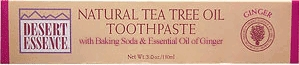 Tea Tree Oil Ginger Toothpaste by Desert Essence - 7oz.