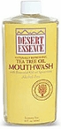 Tea Tree Oil Mouthwash by Desert Essence - 8oz.