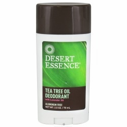 Tea Tree Oil Stick Deodorant by Desert Essence - 2.5oz.