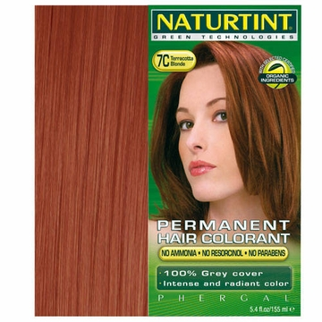 Naturtint Hair Colourants 7C (Terracotta Blonde) - 5.6 Fluid Ounces