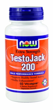 Now Foods TestoJack 200 - 60 Vegetarian Capsules