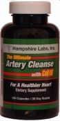 The Ultimate Artery Cleanse with CoQ10 by Hampshire Labs Inc. - 120 capsules